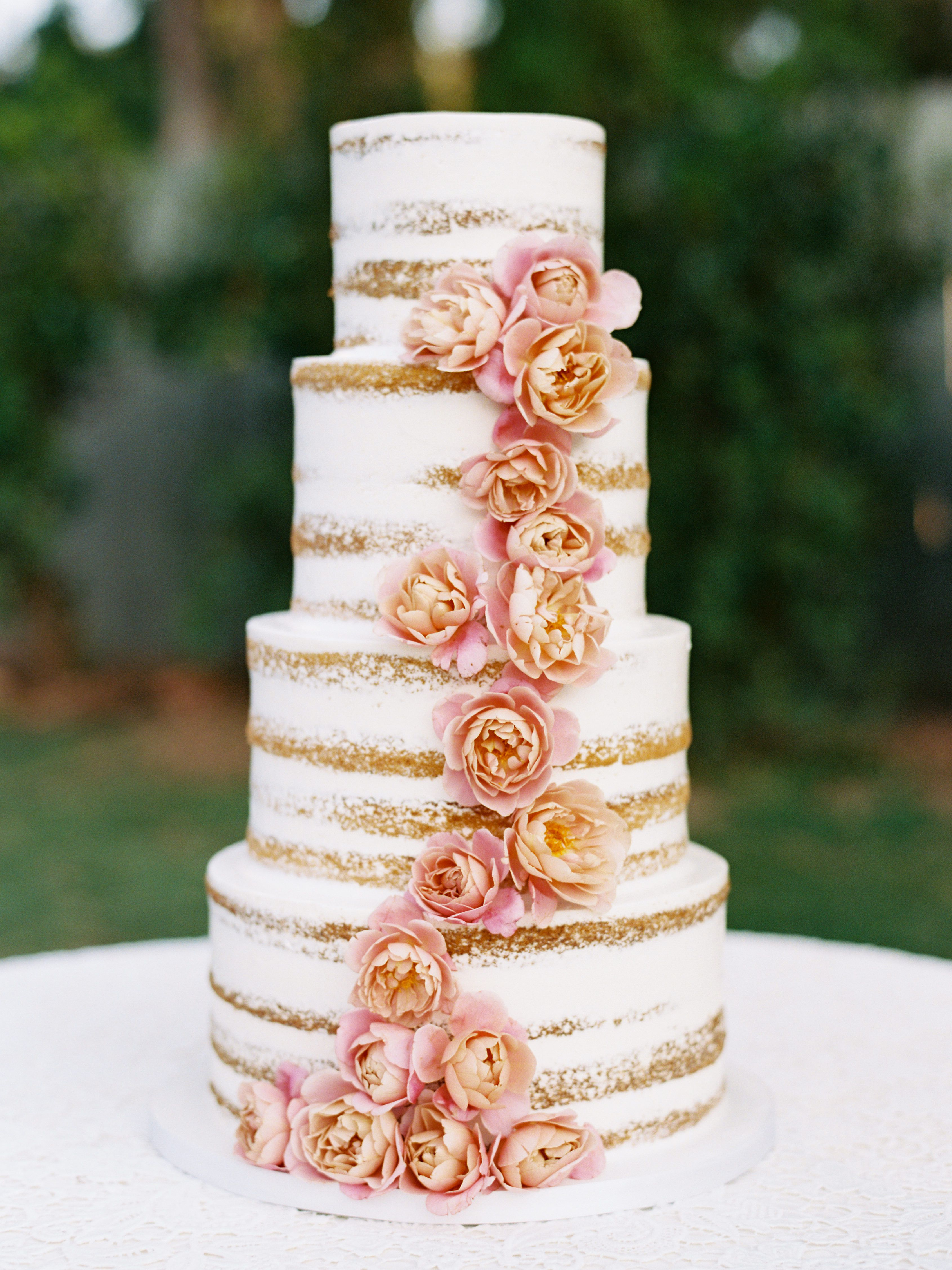 39 Naked Wedding Cakes
