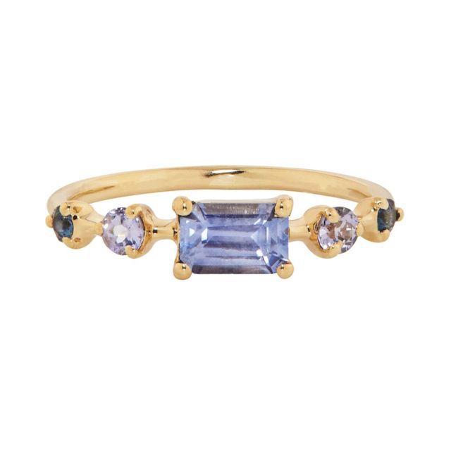 Catbird Blue Vistas Ring