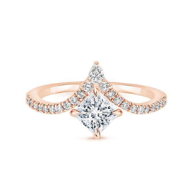 Brilliant Earth Nouveau Diamond Ring