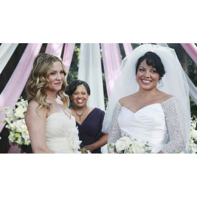 Callie and Arizona on Grey's Anatomy