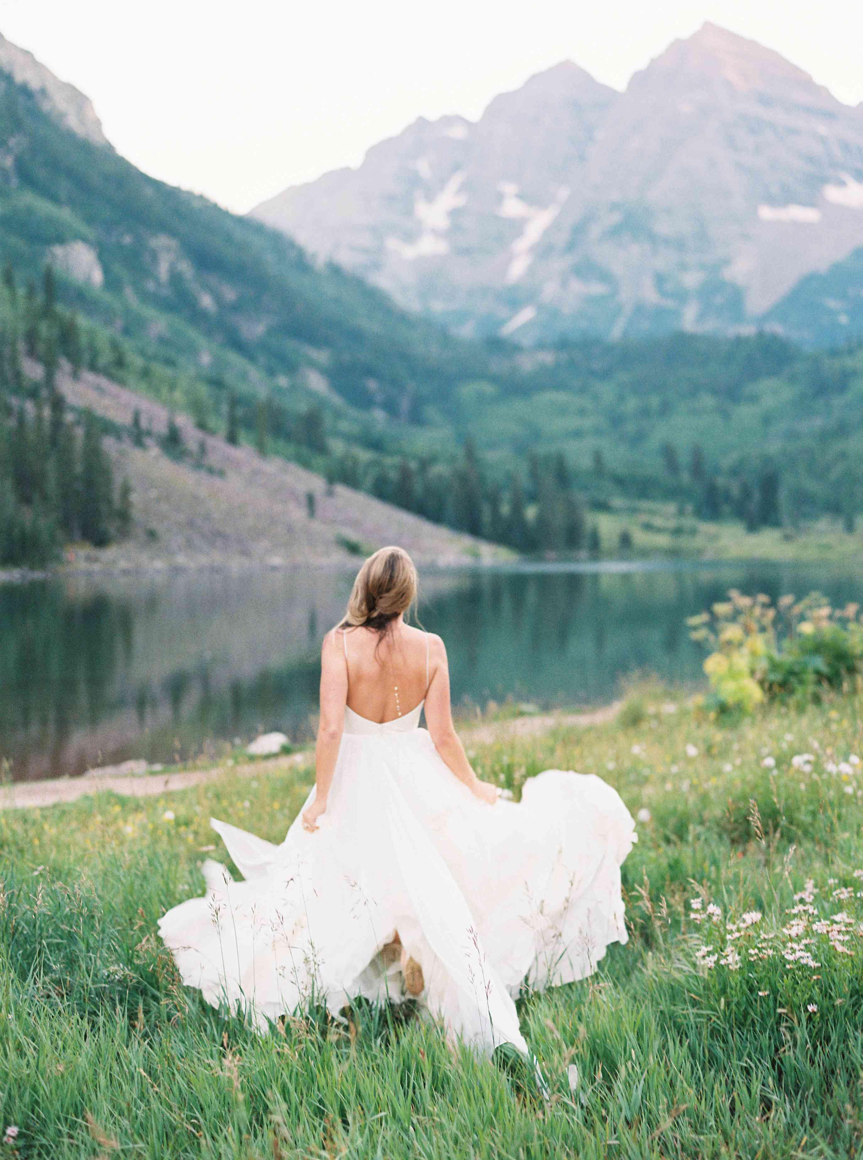 Bride in Leanne Marshall