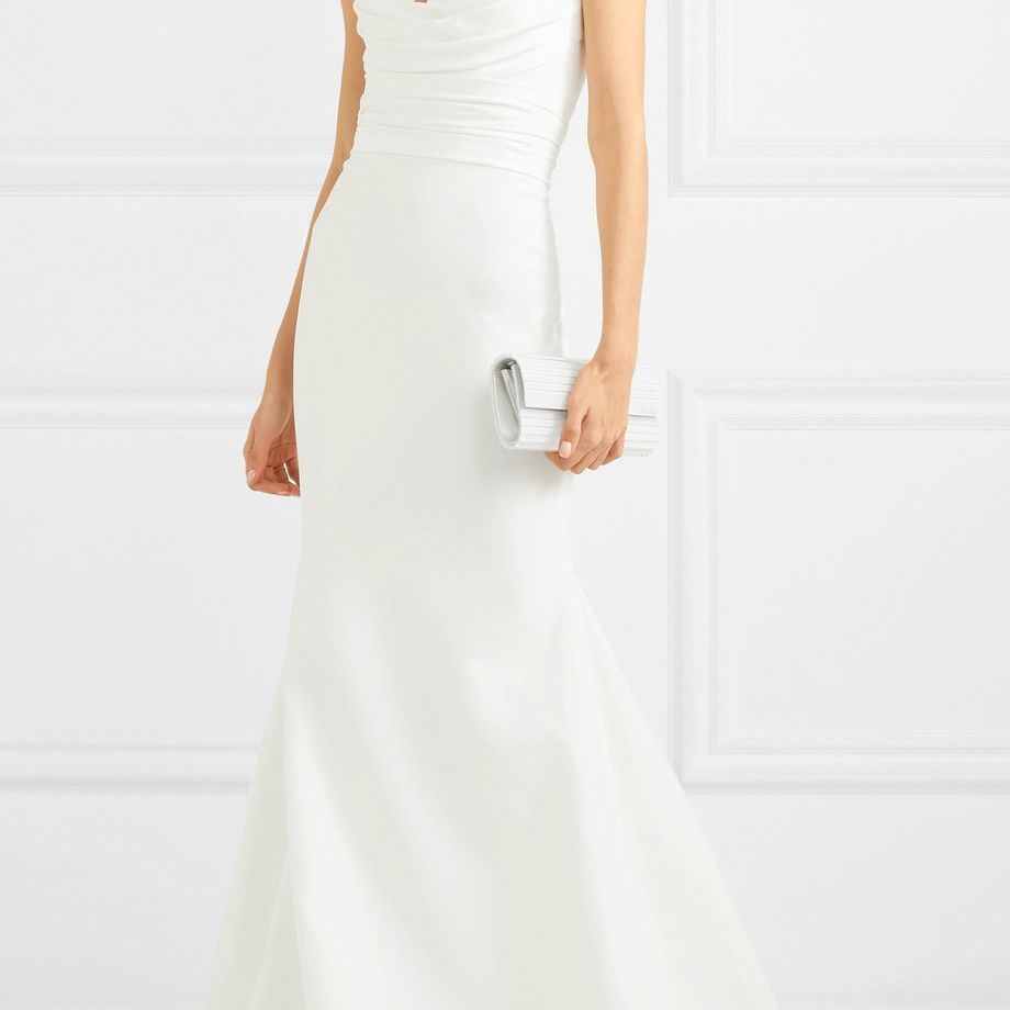 Alex Perry Laura Strapless Crepe Gown $2,900