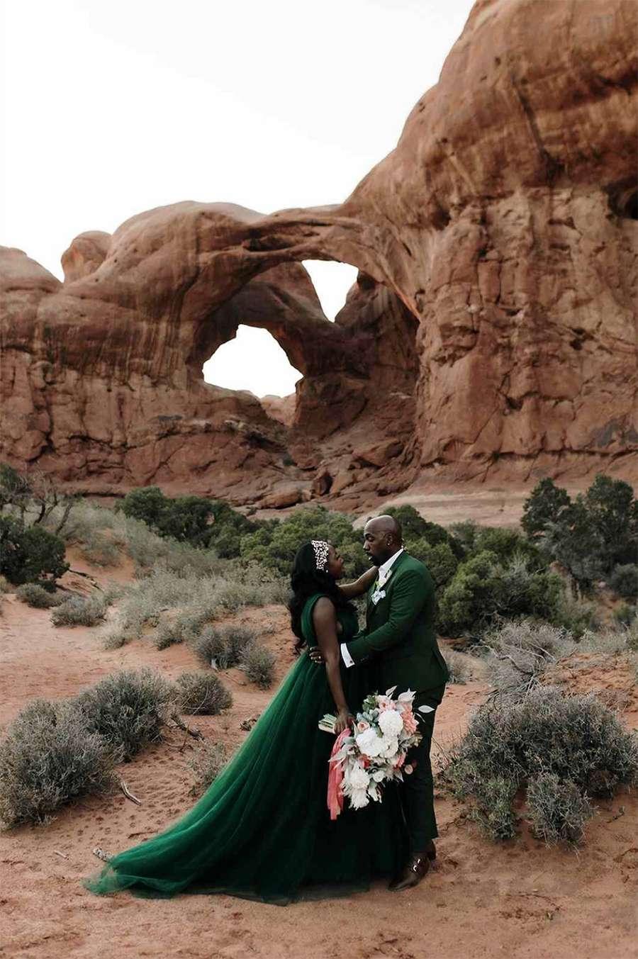 Moab Utah elopement