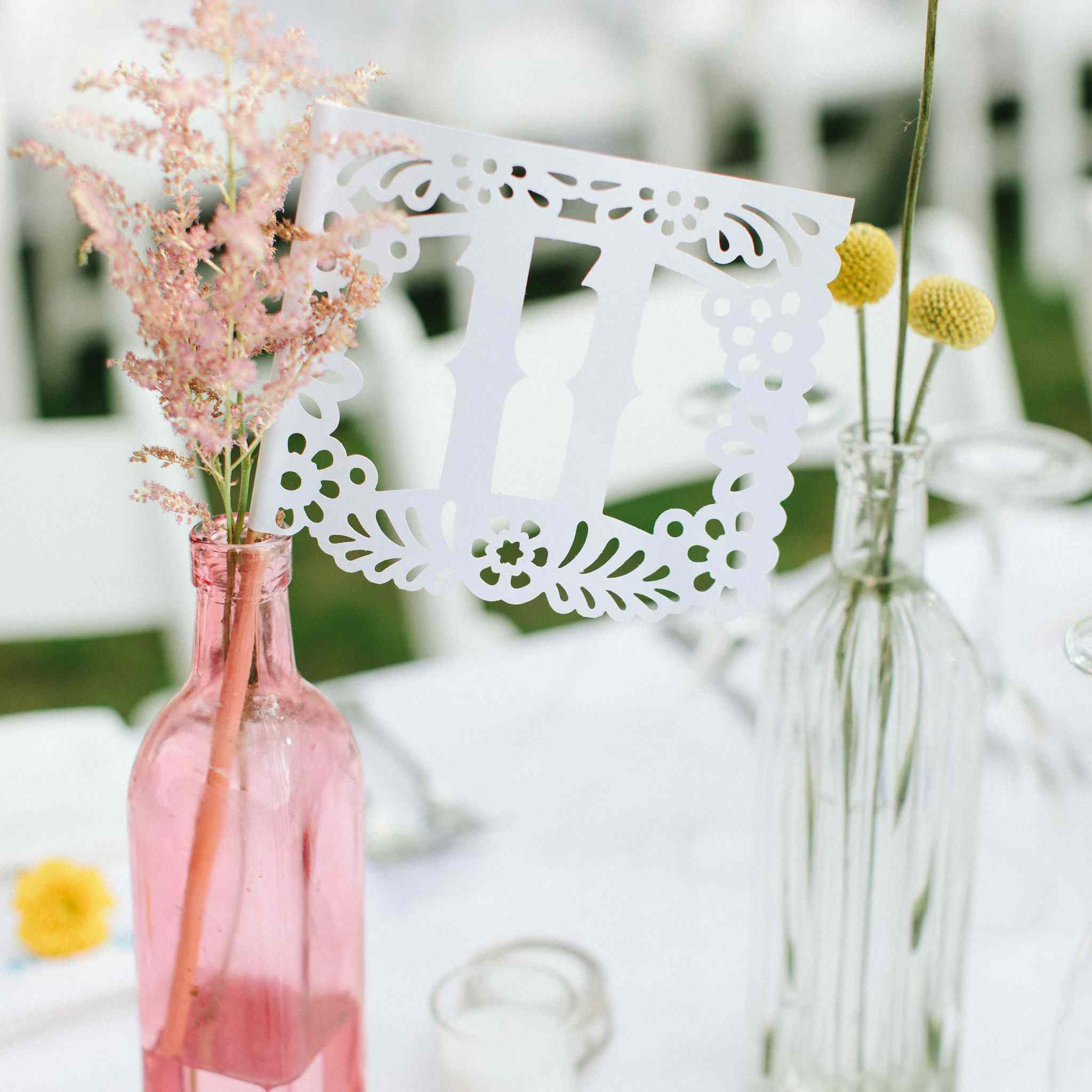 <p>table numbers</p>