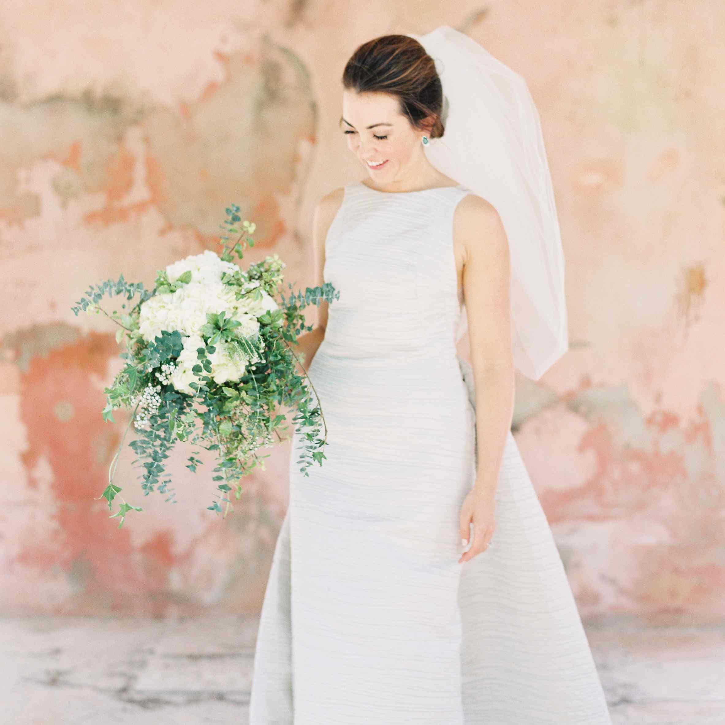 <p>bride in wedding dress</p><br><br>