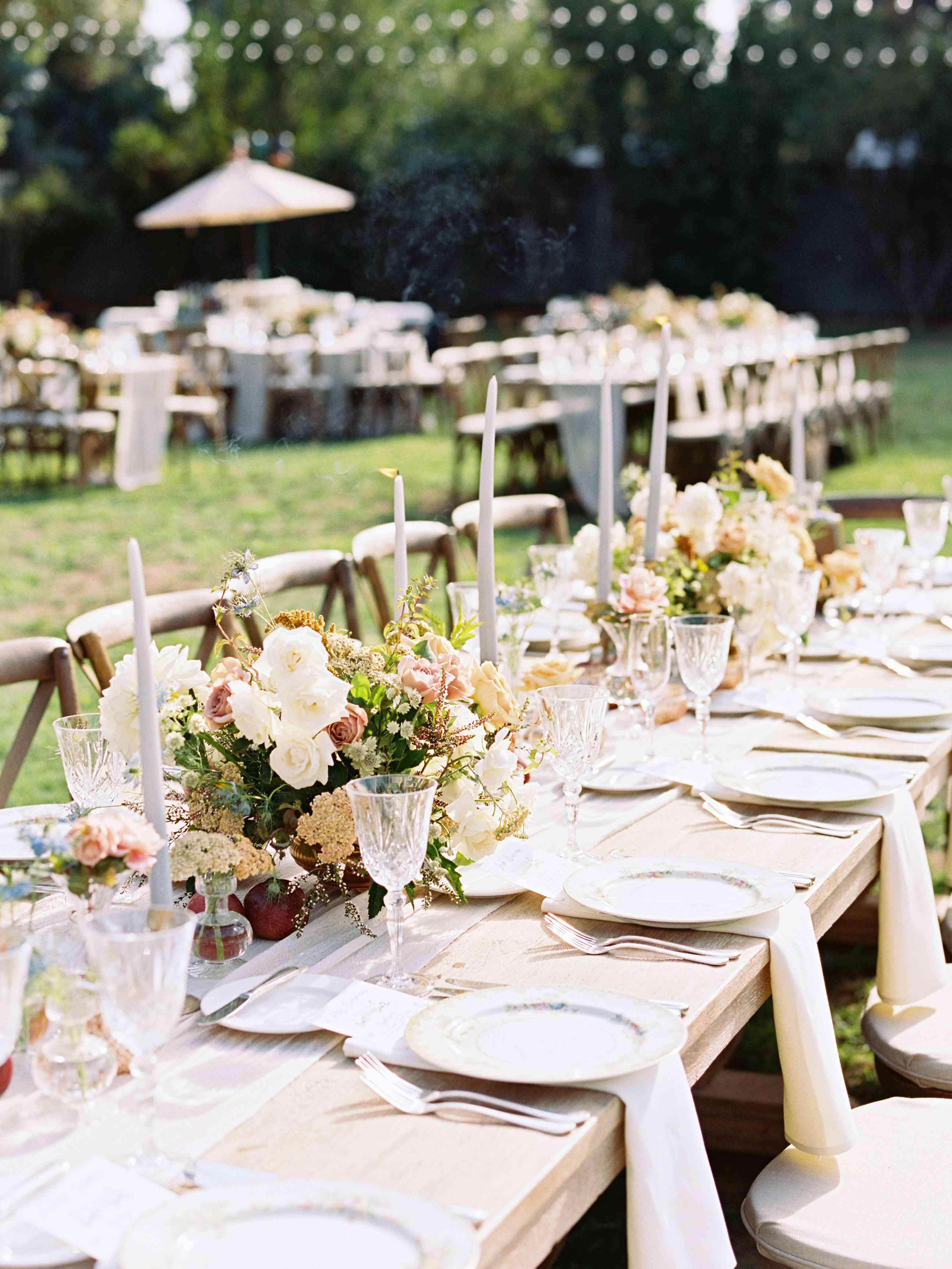 tablescape banquet table
