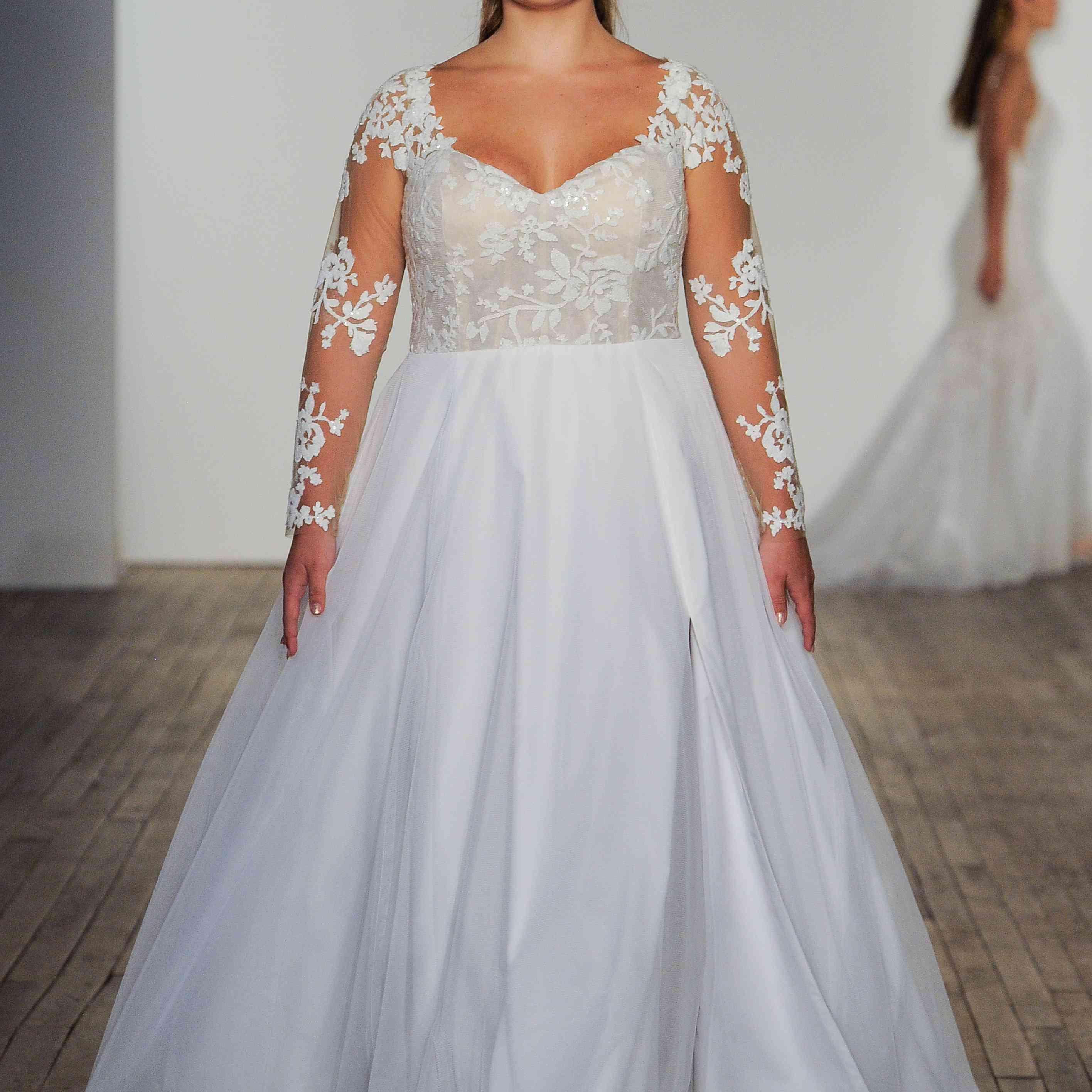 Remi Blush by Hayley Paige Wedding Dress