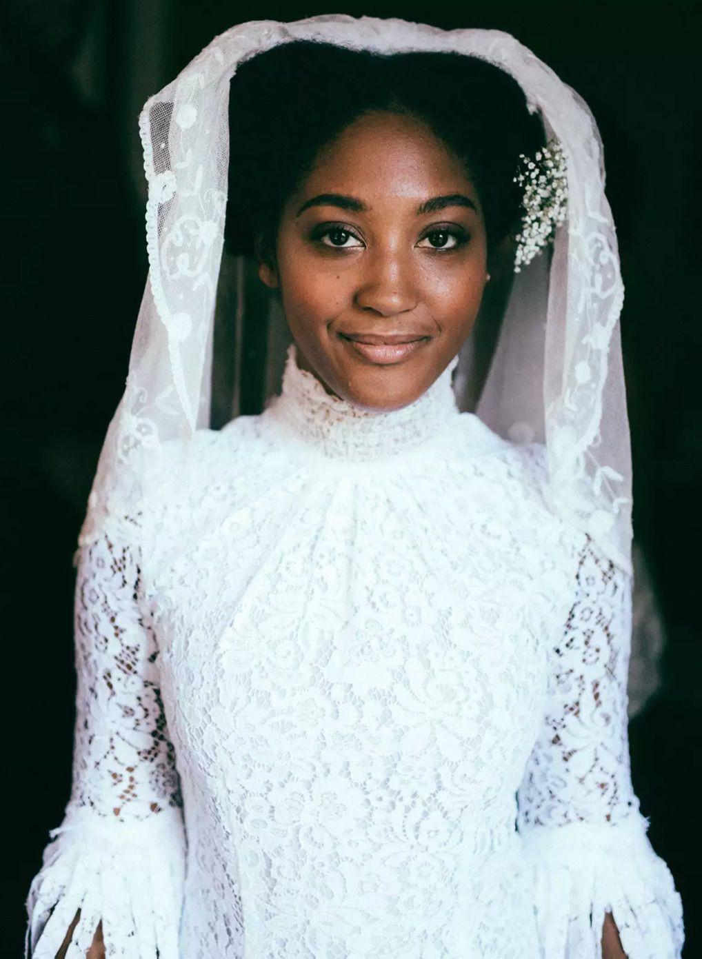 Vintage-style bride