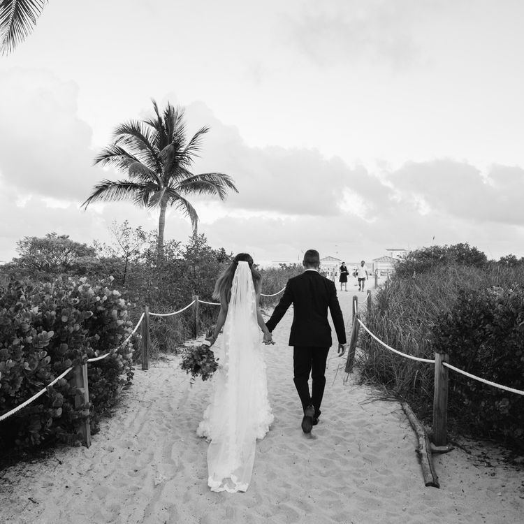 Beach Weddings In Miami Florida: This Couple Left London Behind For A Colorful Beach