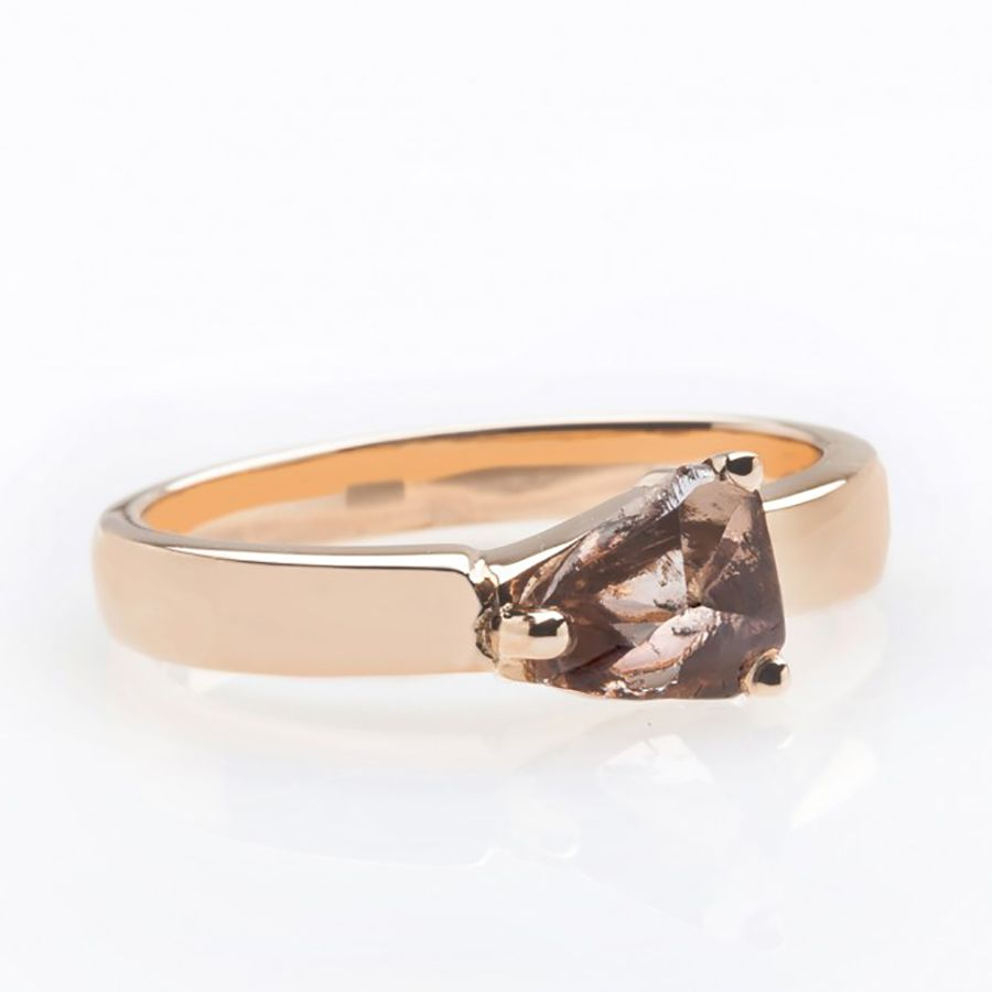 32 Unique Raw Rustic And Rough Diamond Engagement Rings