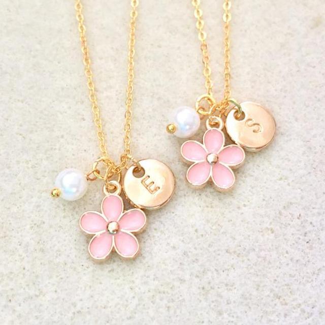 blush Flower girl proposal bracelet flower girl asking gifts gifts for flower girl from bride