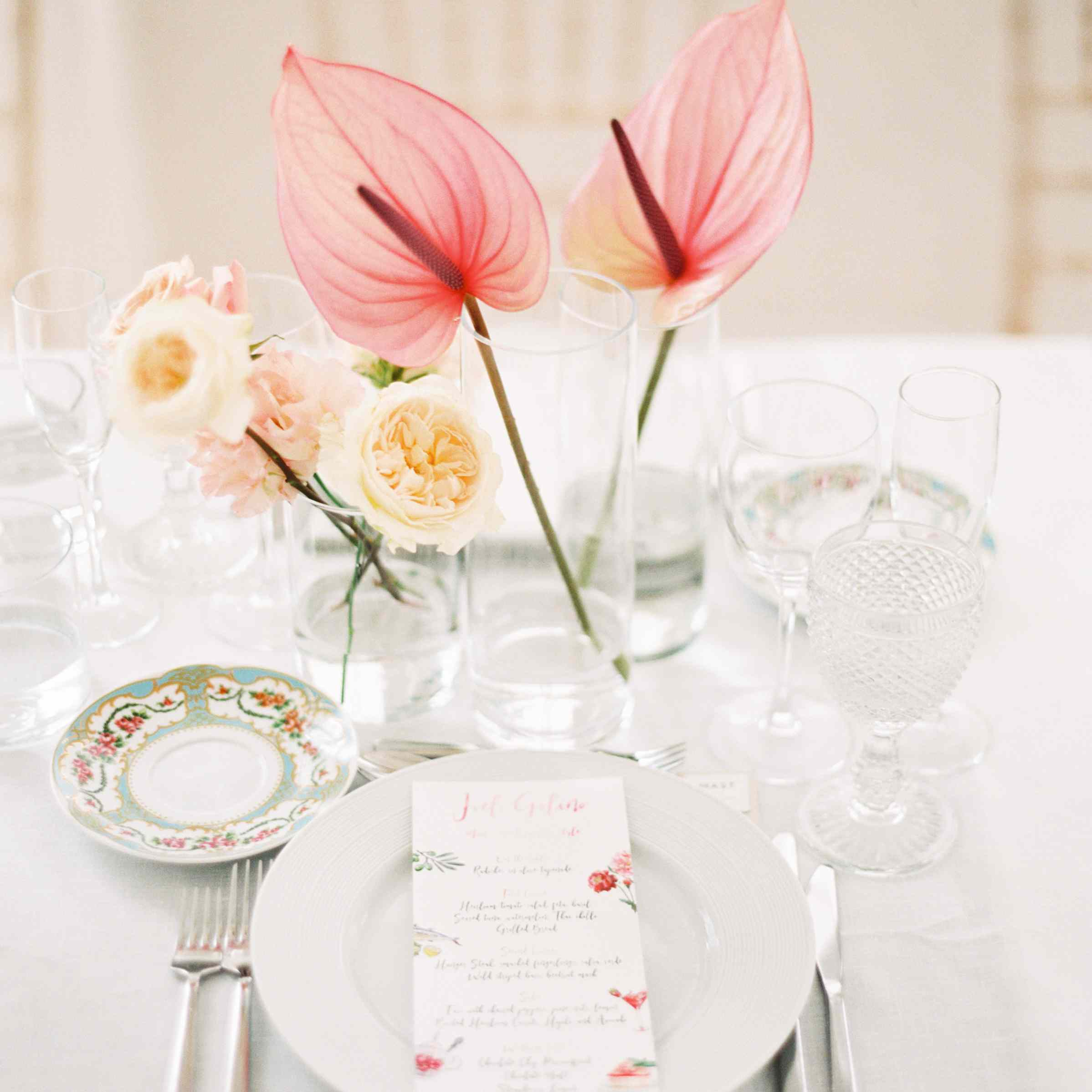 Groupings of Small Glass Vases