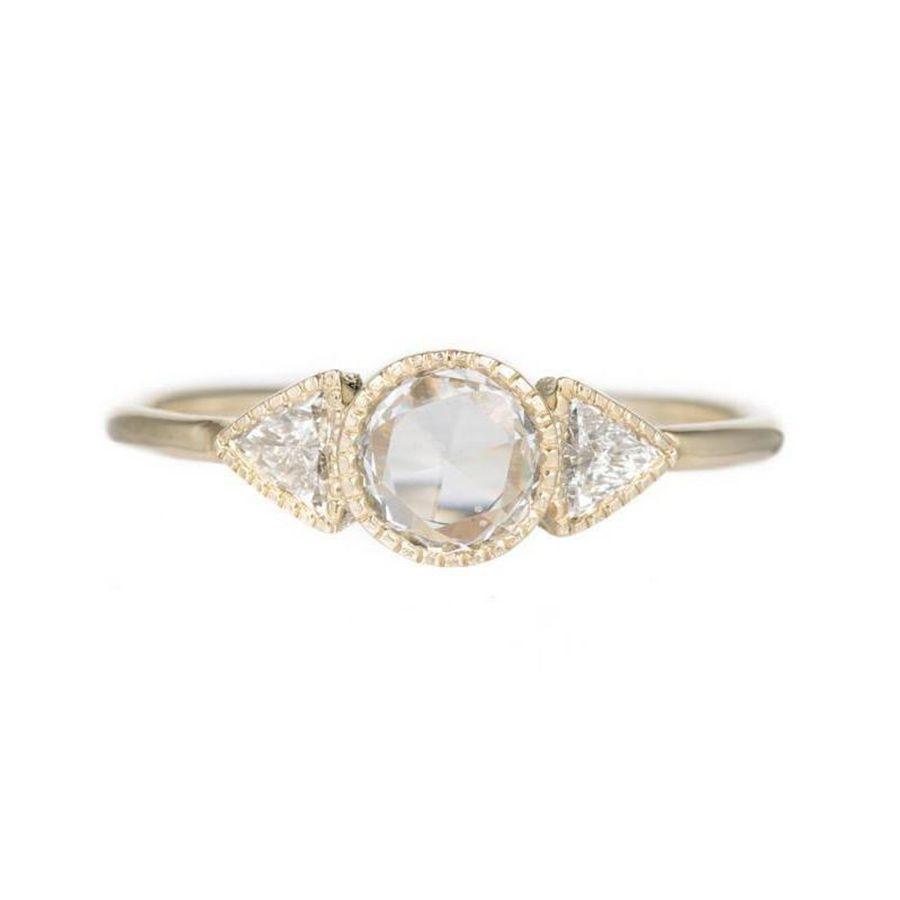 Jennie Kwon Diamond Spear Ring