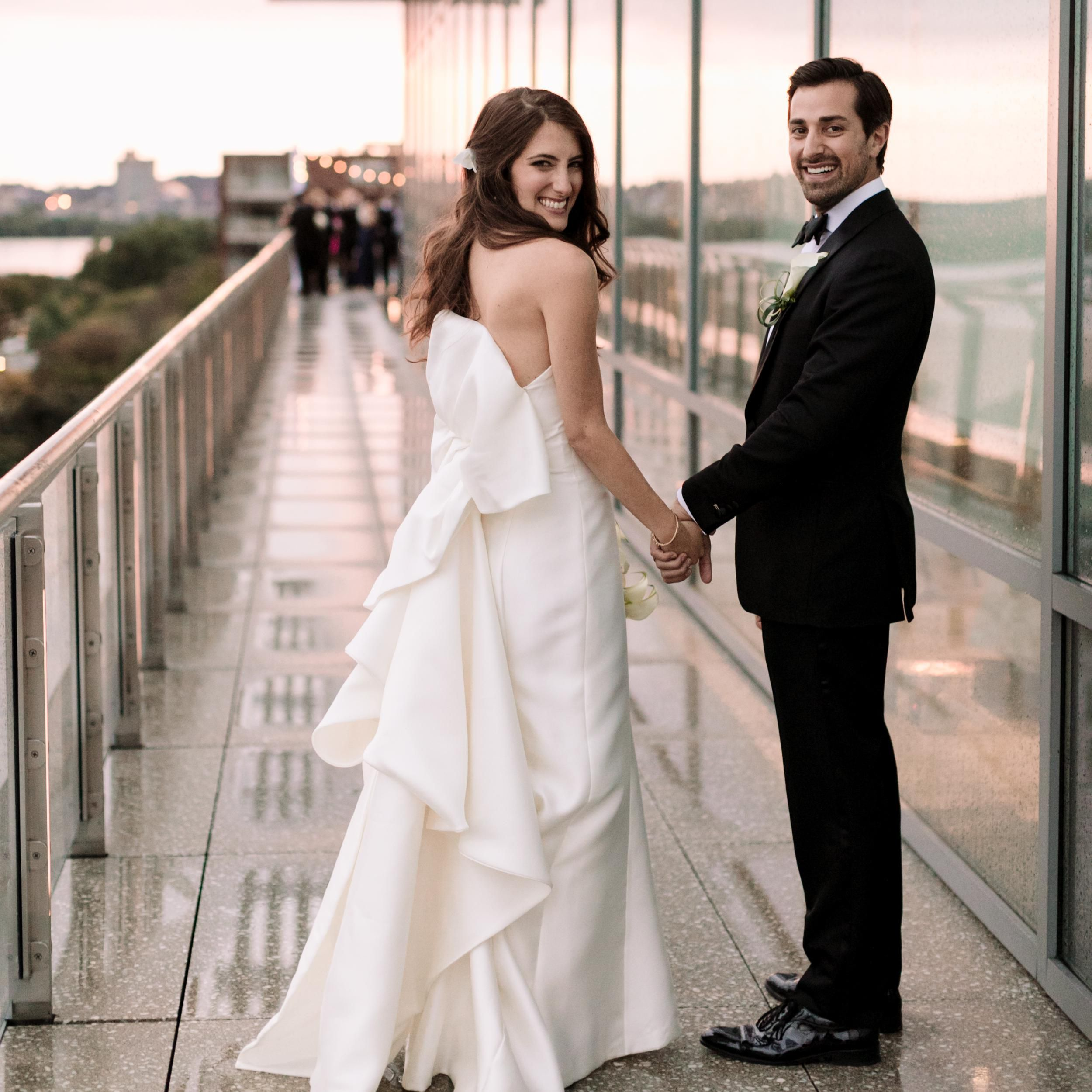 A Clean Minimalist Ceremony In The Heart Of Boston