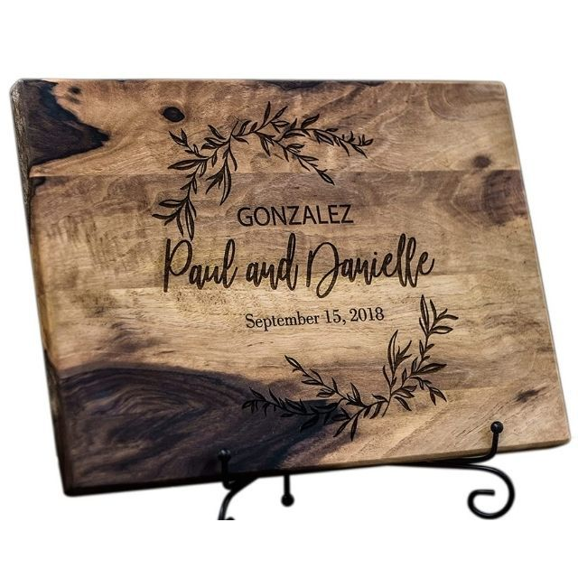 TheHrdwoodCom Engraved Personalized Cutting Board