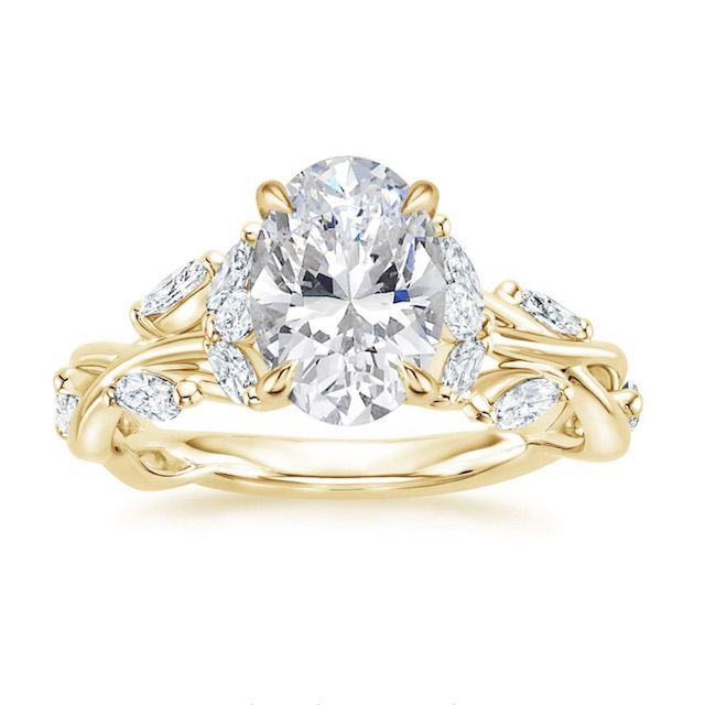 Brilliant Earth Secret Garden Diamond Engagement Ring