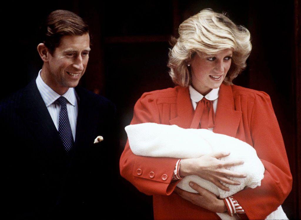 prince charles and princess diana with son
