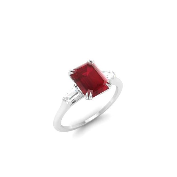 Ruby Engagement Rings The Complete Guide