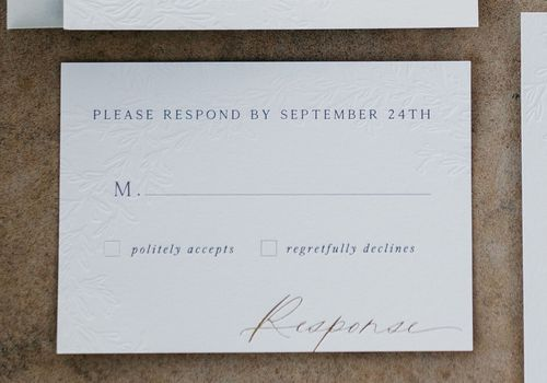 Wedding Rsvp Card Wording Tips And