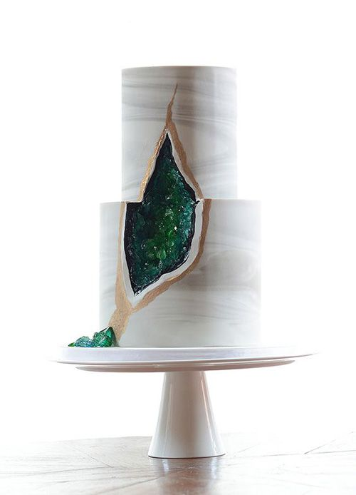 Geode Wedding Cake.The New Geode Wedding Cake Trend That S Taking The Internet By Storm