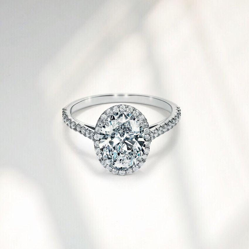 Tiffany Oval Cut Ring