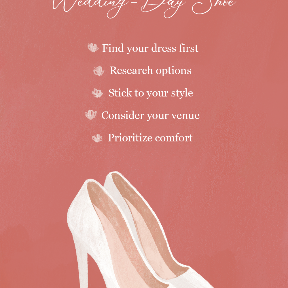 How to Pick Your Wedding Day Shoe