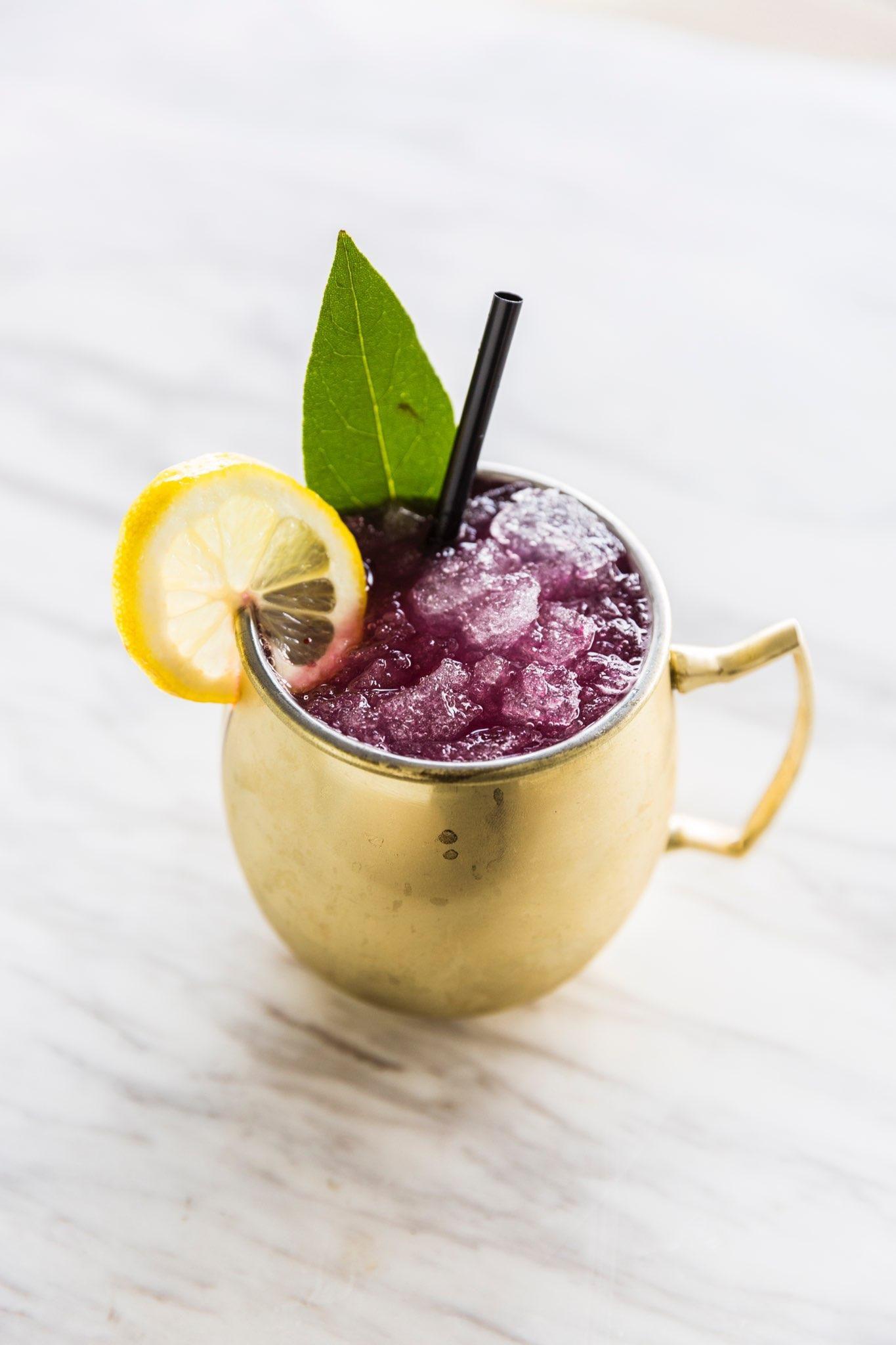 alcohol, signature cocktail, drink, glass, ice, beverage, bar, mule mug, copper mug