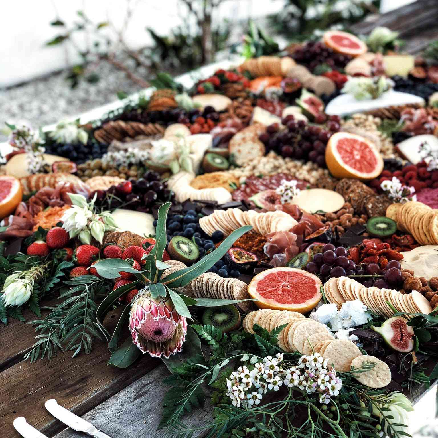 18 Grazing Table Ideas For A Gorgeous Spread