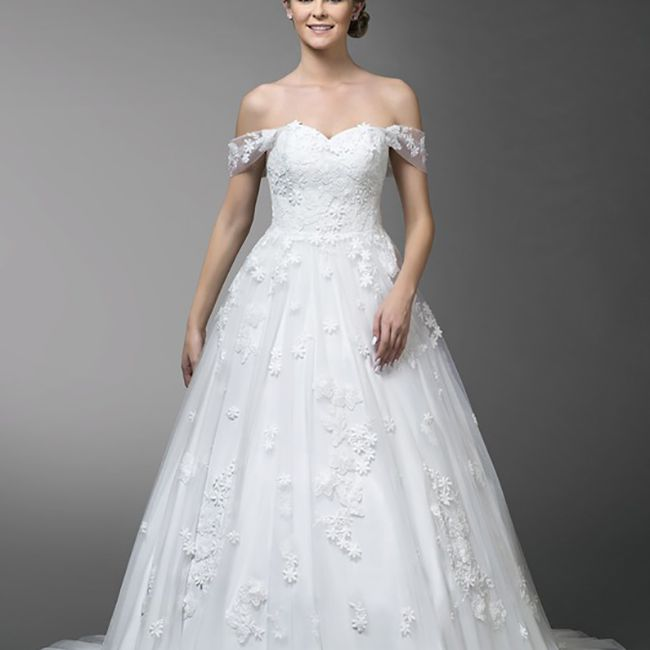 The Perfect Wedding Gown: 28 Floral Wedding Dresses Perfect For A Spring Wedding