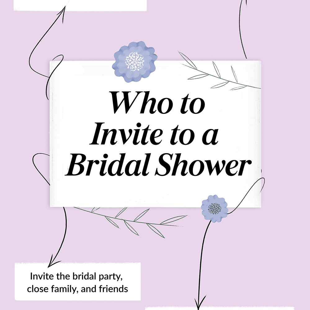 Who Gets Invited To The Bridal Shower