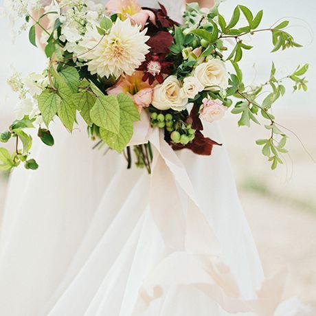 A textural bouquet