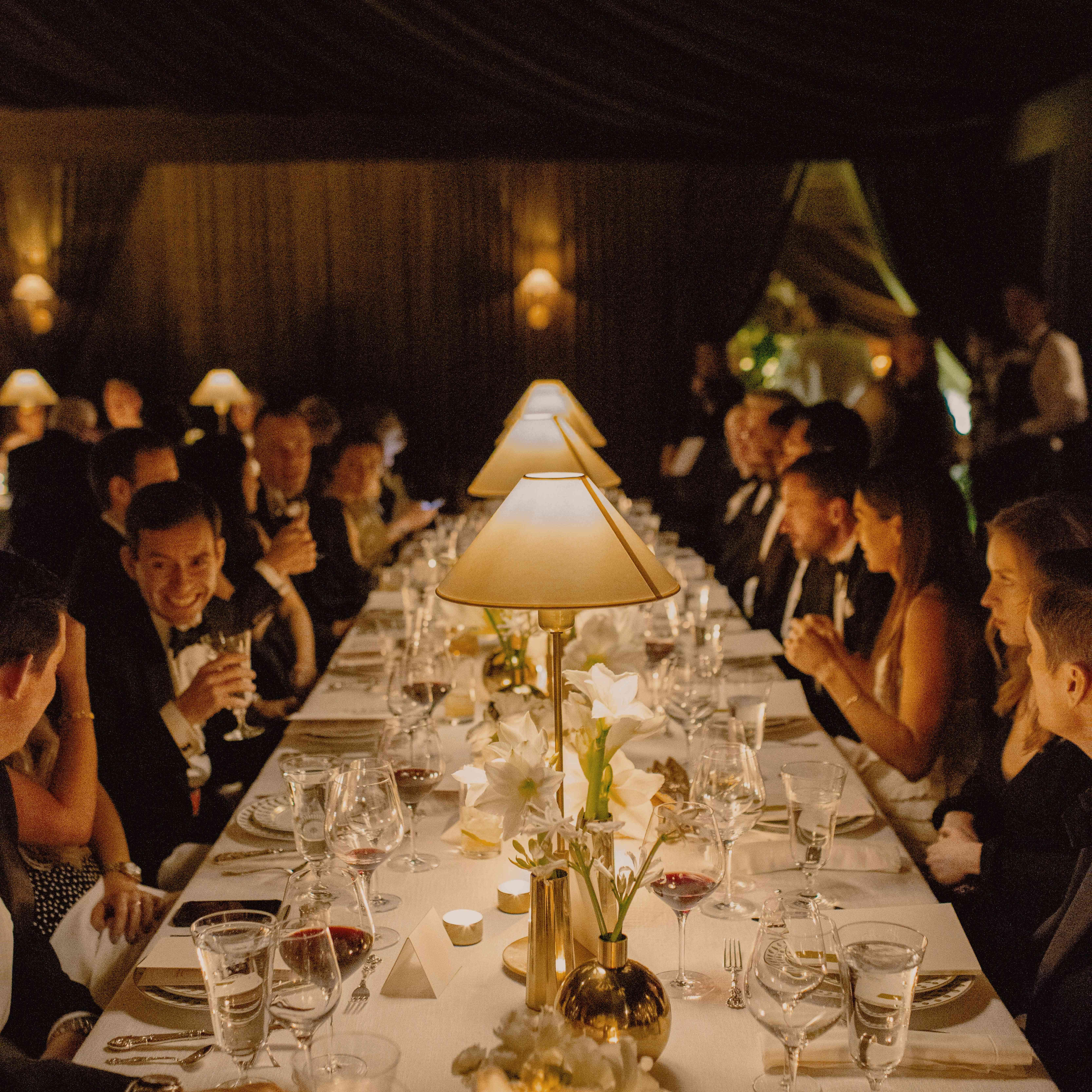 table at dark