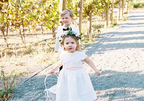 Flower Girl Ring Bearer Age