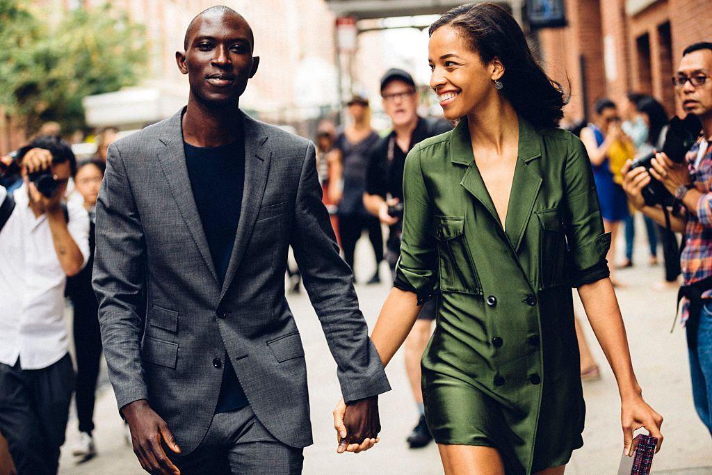 couple on the street