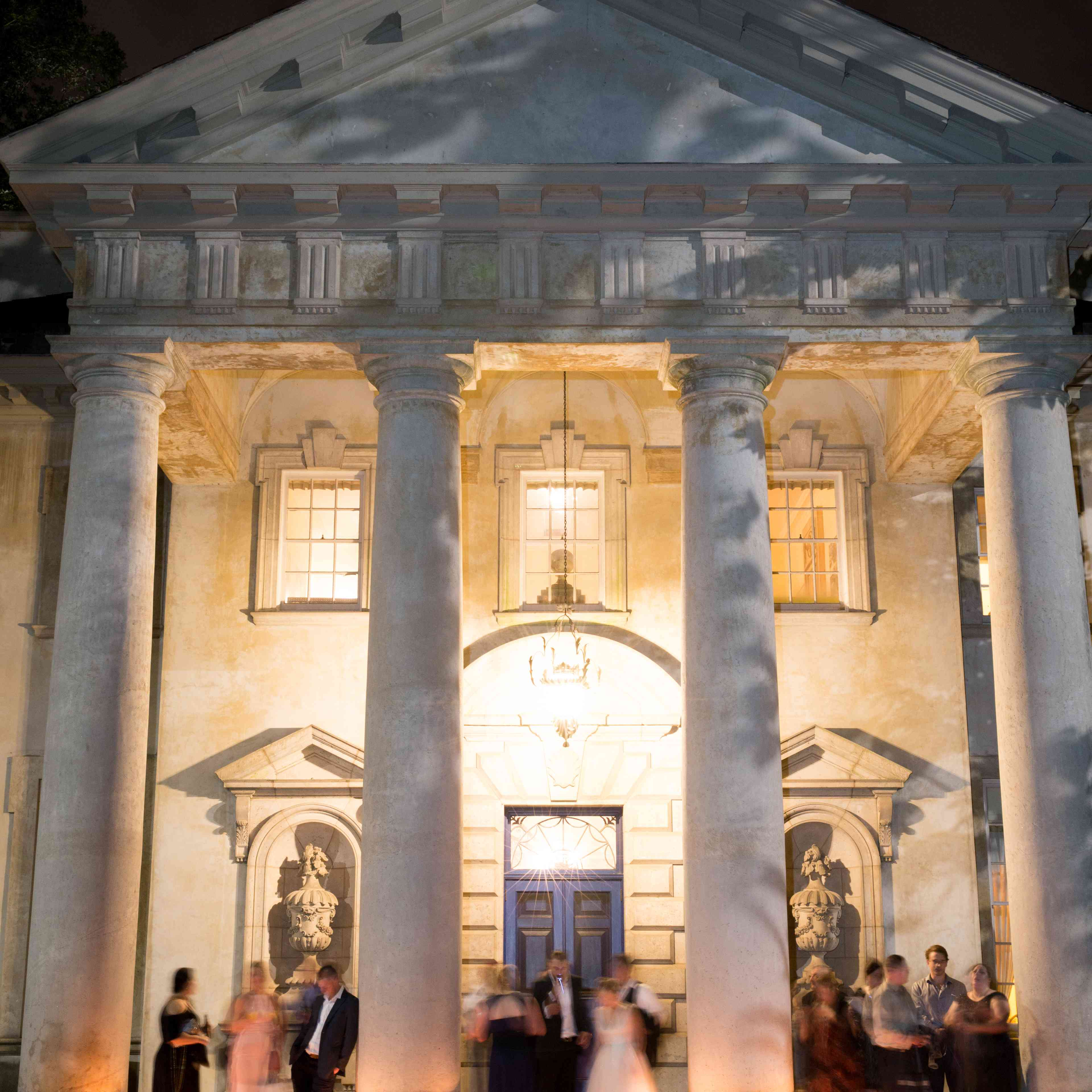 <p>guests at reception</p><br><br>