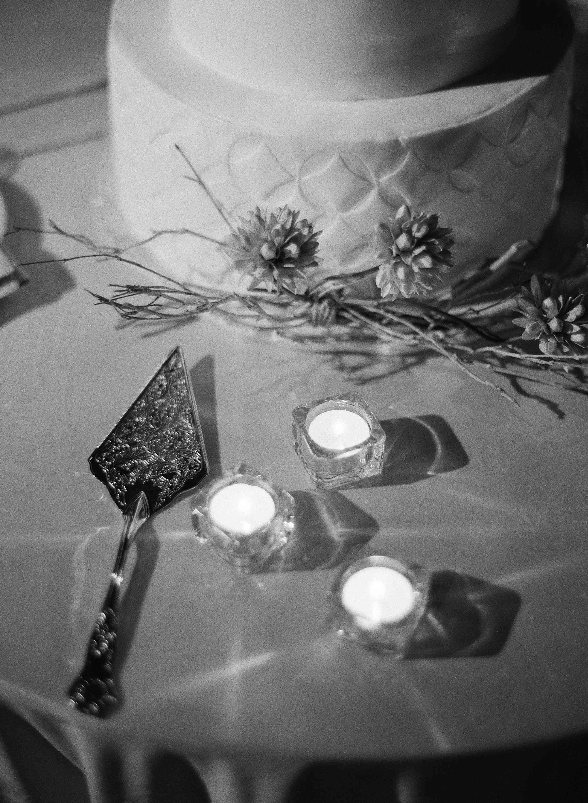 classic la badia italian wedding, cake knife