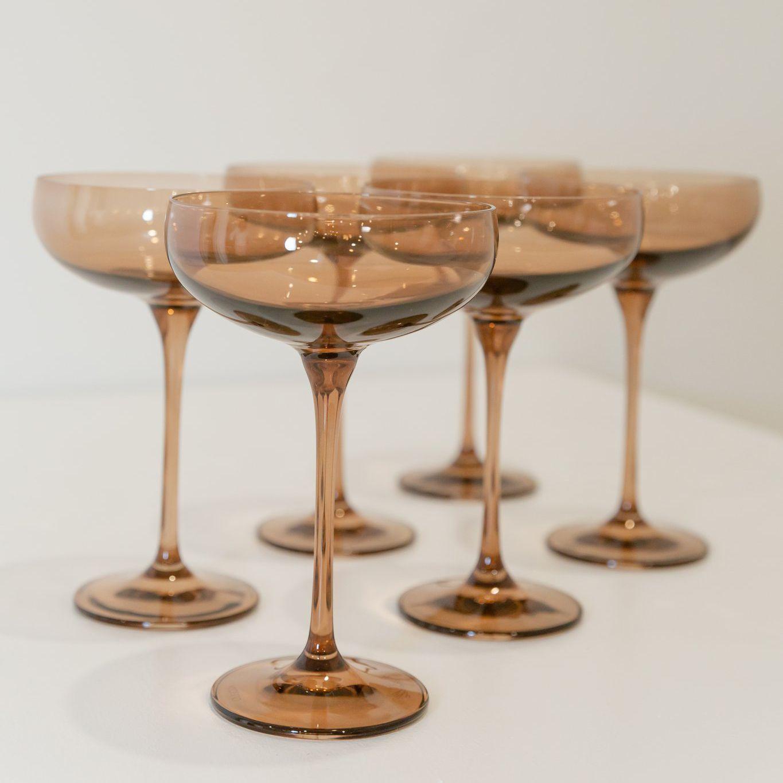 Champagne Coupe Stemware Set