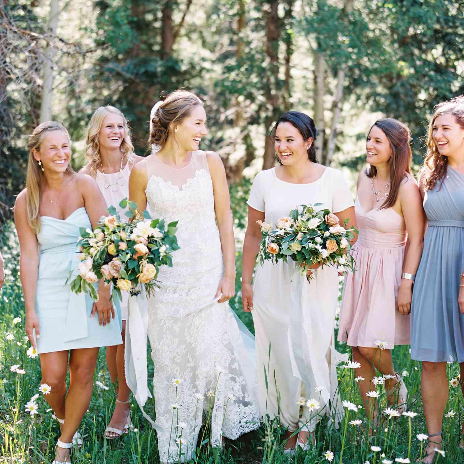 Brides with Bridesmaids