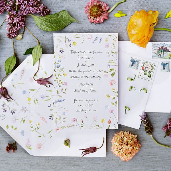Wedding Invitation Stationery Ideas Brides