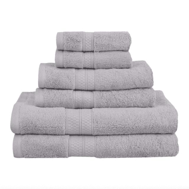 Down Cotton 6 Piece Towel Set