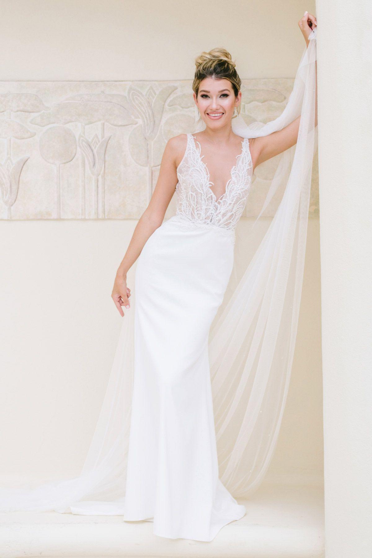 Watters Flint Wedding Dress