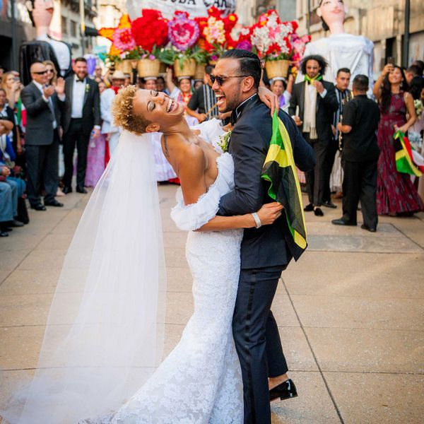 Bride and Groom in Mexico City