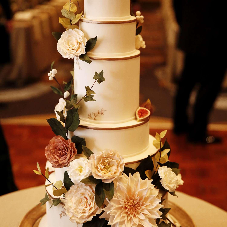 <p>six tier wedding cake</p><br><br>