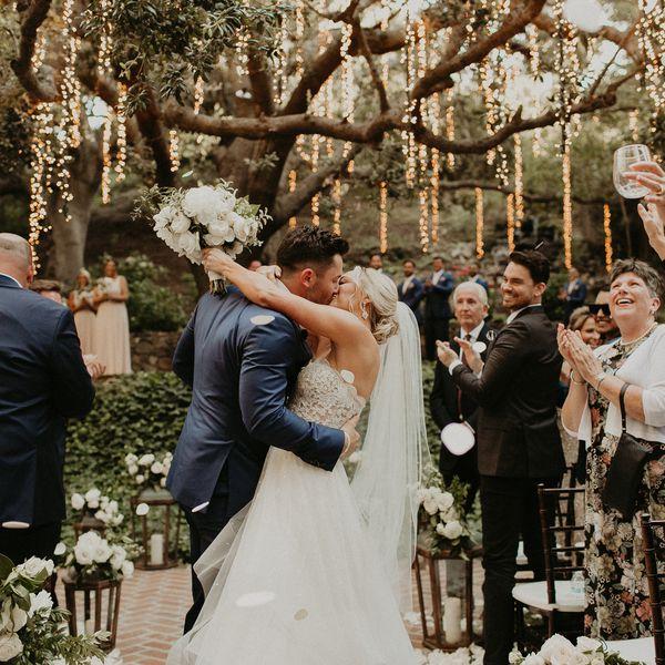 Baker Mayfield Wedding, bride and groom
