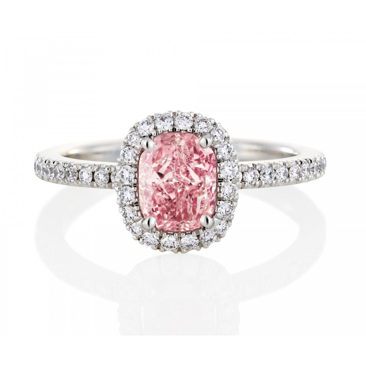 32 Pink Engagement Rings Styles