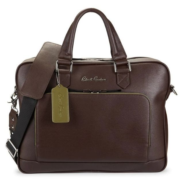 Robert Graham Titian Leather Briefcase