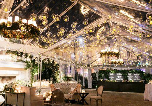 Winter party reception