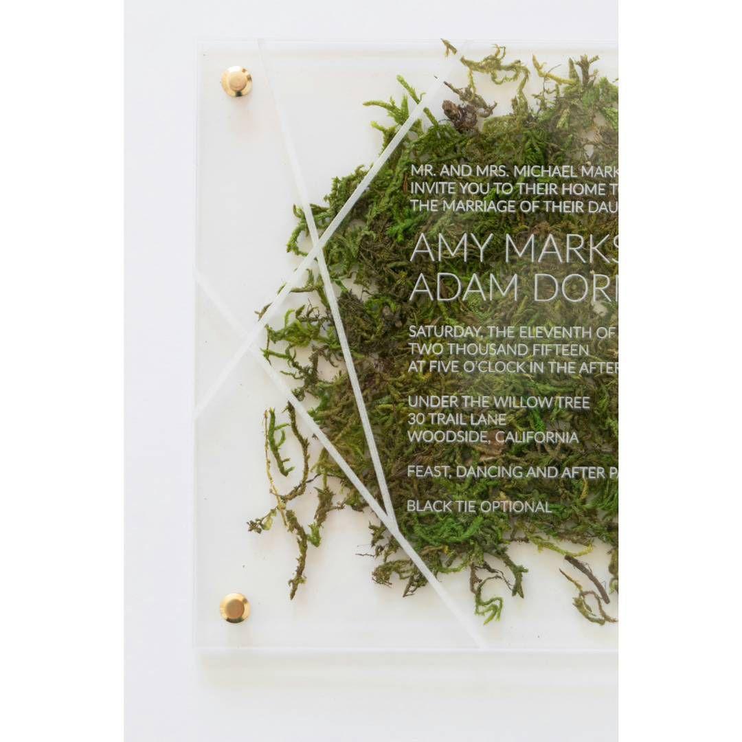moss invitation