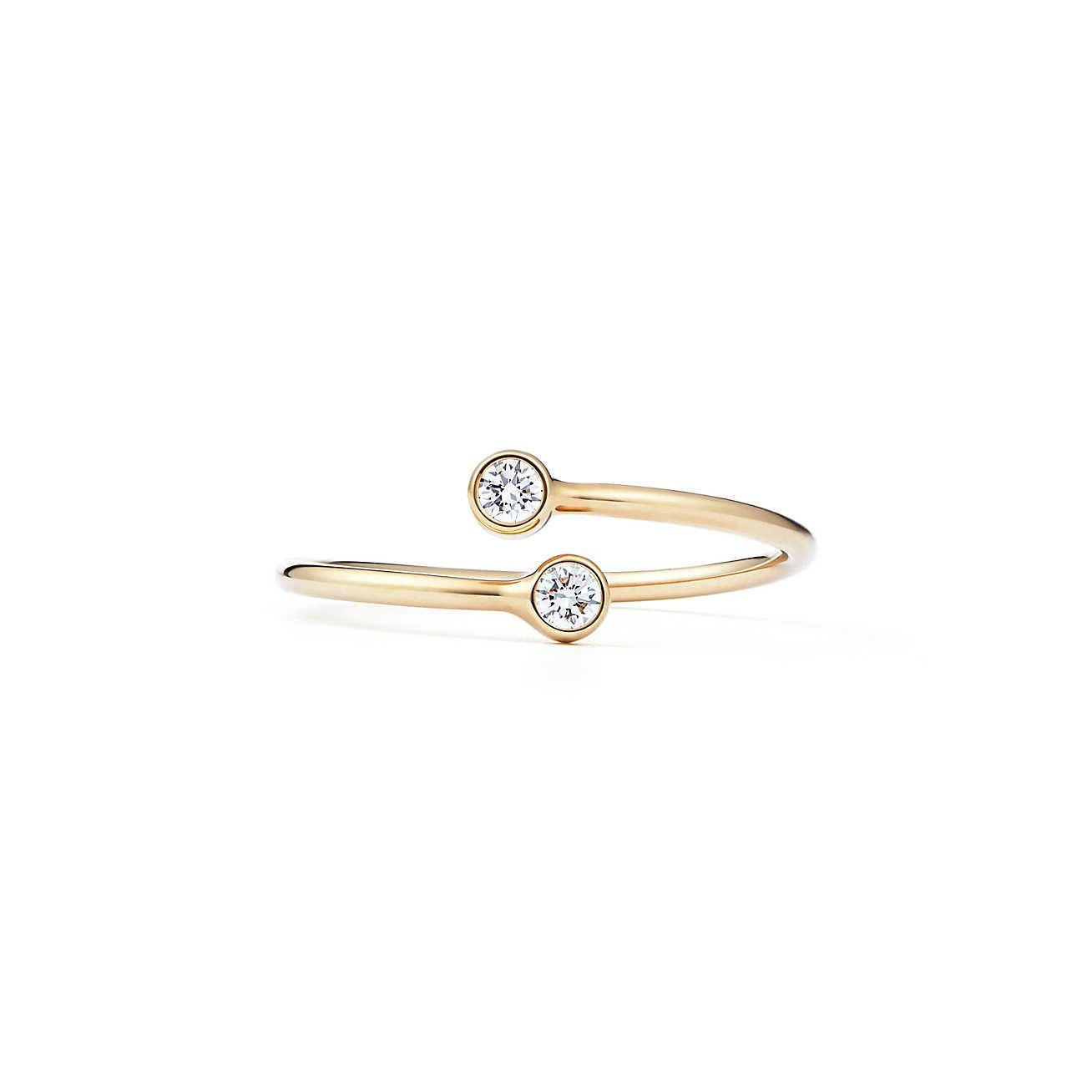 Tiffany & Co. Diamond Hoop Ring