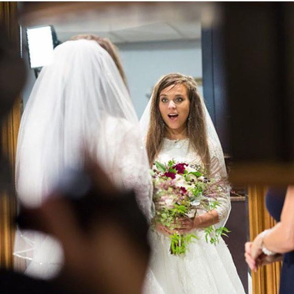 Jinger Duggar Wedding Dress.Jinger Duggar Had A Long Wedding Dress Train For A Very Specific